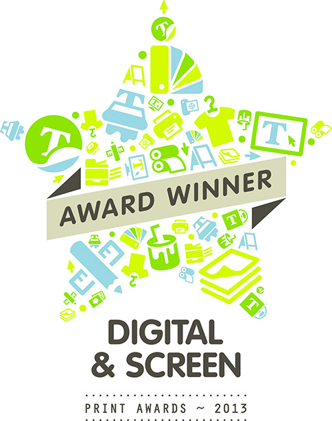 SGIAA Screen Printing Awards Logo