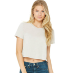 Bella+Canvas Flowy Crop Tee