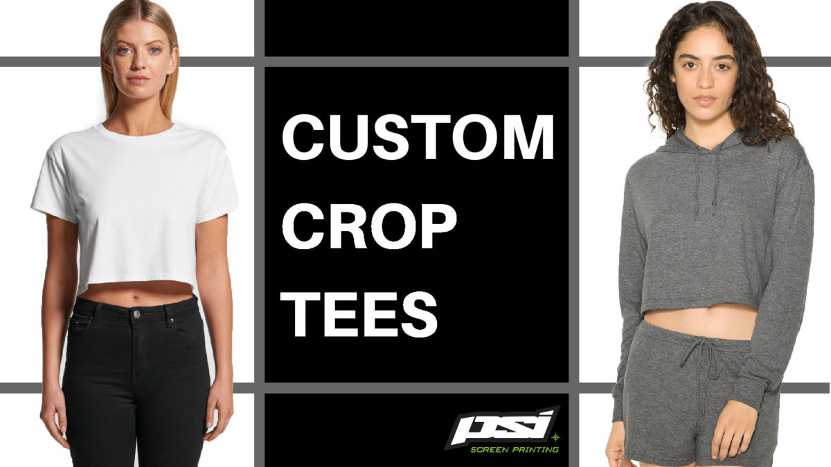 Custom Crop Tees – The Midriff Makes a Comeback!