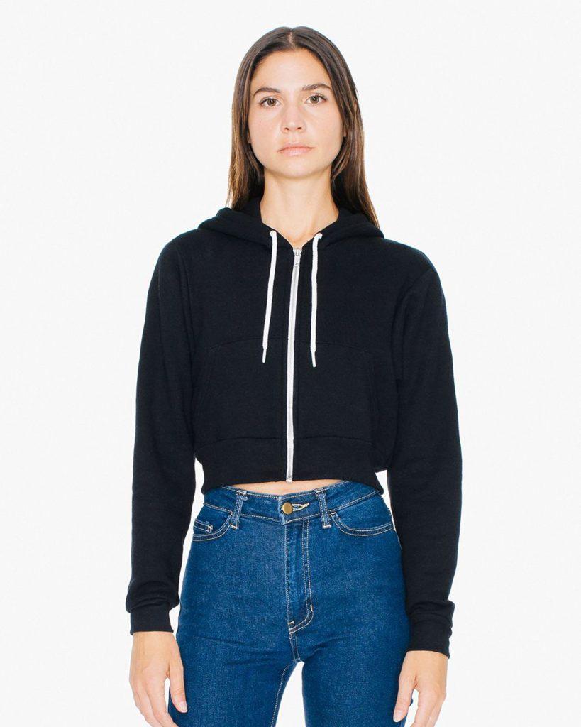 Crop-zip-Hood